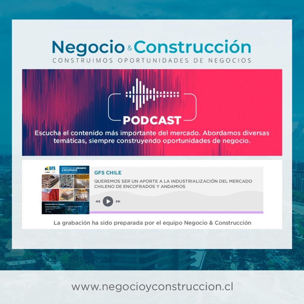 GFS CHILE | Queremos ser un aporte a la industrialización del mercado chileno de encofrados y andamios