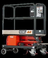 Elevador de mástil de empuje manual 1030P | JLG