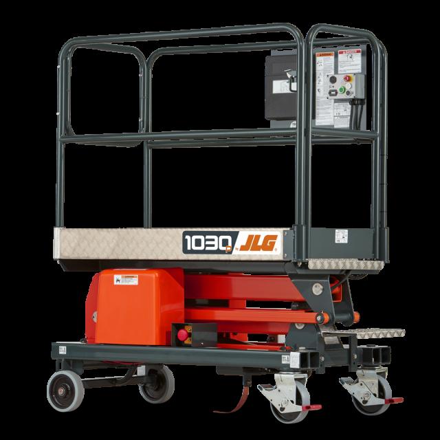 Elevador de mástil de empuje manual 1030P   JLG