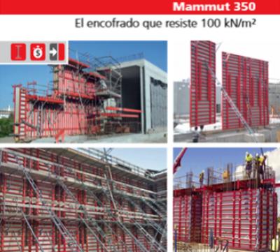 Sistema de Moldaje Mammut 250 / GFS