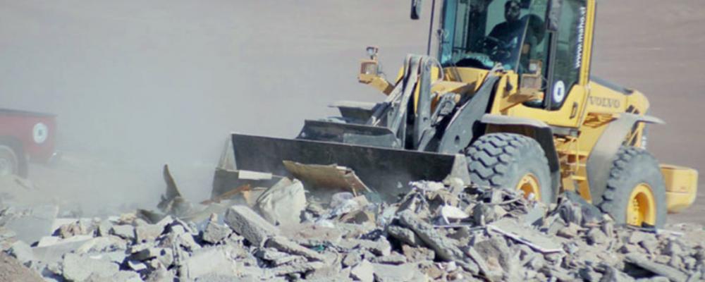 EN LA ACTUALIDAD EL MANEJO DE LOS residuos de la construcción y demolición (RCD) EN LA RM ES BÁSICAMENTE DE tipo lineal