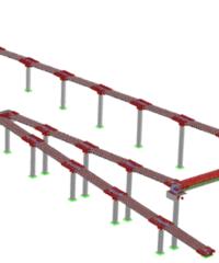 Soluciones de Ingeniería para Pasarelas con Metodología BIM | Sincal