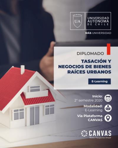 Diplomado Tasación y Negocios de Bienes Raíces | Universidad Autónoma de Chile