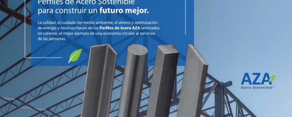 ACEROS AZA AVANZA en temas de  economía circular y presenta SU NUEVA  COMPAÑÍA ECO AZA