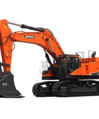 Excavadora sobre orugas DX800LC  / Doosan